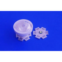 Bead Surface Spot Light Lens / Cree Led Collimator Lens With Cone Holder