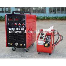 MIG 350 alimentador de alambre separado soldador inversor mig