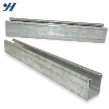 Matériau de construction Chine Fournisseur Zinc Acier galvanisé Matériaux de construction C Profils Canal