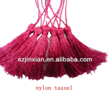 rayon nylon silk tassels ,wholesale tassels for the jewelry