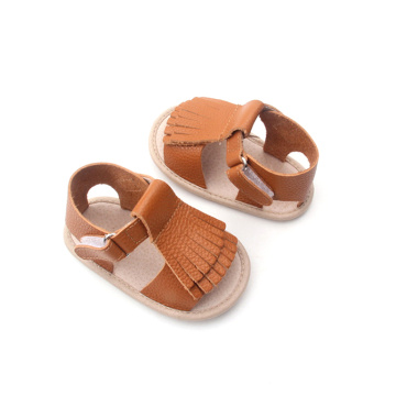 Fringe Design Cute Summer Sandals Baby Shoes