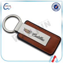 Chine Custom Metal Leather Keychain Wholesale