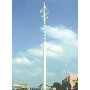 Comunicações Monopole de aço galvanizado