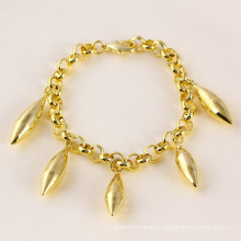71472 xuping popular special price bracelet with 14k gold plated for girls