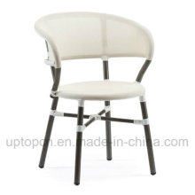 Leisure White Outdoor Garden Chair with Aluminum Frame (SP-OC379)