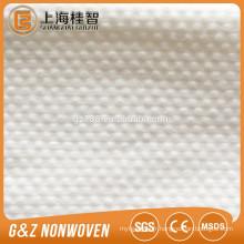 tissu non-tissé spunlace tissu gaufré dot gaufré échantillon gratuit