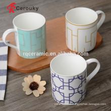 Tasse de café MOQ faible fabricant tasse de souvenir en céramique