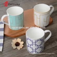 Low MOQ coffee mug manufacturer ceramic souvenir mug