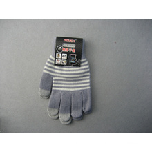 10g Polyester Liner Three Finger Touch Screen Work Glove-T3002