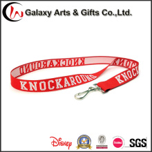 Promotional Custom Woven Lanyards for Badge/ID Card/Keychain
