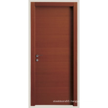Interior Flush Door with Wooden Skeleton Made in China