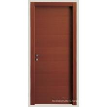 Межкомнатные двери с деревянным каркасом, сделанные в Китае