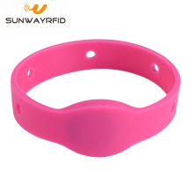 Programmable Fudan F08 RFID Silicone Wristband