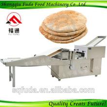 2015 hot comercial automático lavash pão máquina linha à venda