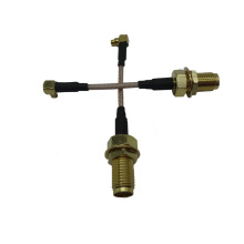 MMCX to F jack cable assembly