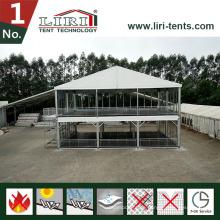 Double Decker Zelt für Outdoor-Events zu verkaufen