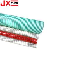 Use una manguera de succión helicoidal flexible de PVC resistente al desgaste