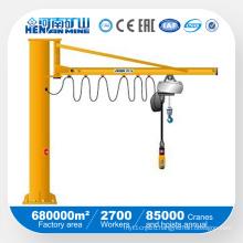 360 Degree Rotationary Workshop Pillar Type Jib Crane