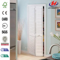 Plantation Full-Louver Painted Pine Interior Closet Bi-fold Door