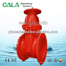 NRS metal seated gate valve