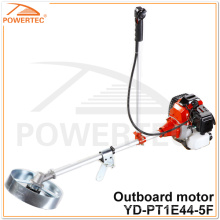 POWERTEC 51.7cc 1.6kw Gras Trimmer Motor Benzin Außenborder (YD-PT1E44-5F)