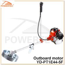 Motor externo da gasolina do motor do ajustador da grama de POWERTEC 51.7cc 1.6kw (YD-PT1E44-5F)
