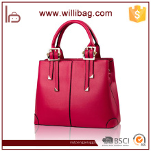 China Elegance Lady Leather Tote Bag Hot Sale Fashion Handbag