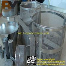 Elemento de filtro de malla de alambre de acero inoxidable