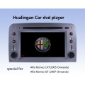 Reproductor de DVD de coche Auto DVD GPS Audio para Alfa Romeo 147 (HL-8805GB) con MP5 Player Manual