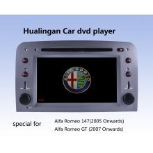 Reproductor de DVD de coche Auto DVD GPS Audio para Alfa Romeo 147 (HL-8805GB) con MP5 Player Manual