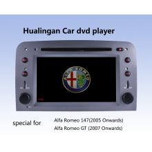 Car DVD Player Automático DVD GPS Audio para Alfa Romeo 147 (HL-8805GB) com MP5 Player Manual