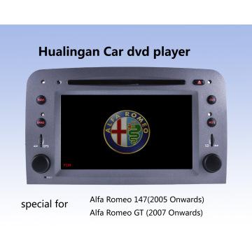 Автомобильный DVD-плеер Auto DVD GPS Audio для Alfa Romeo 147 (HL-8805GB) с руководством MP5 Player