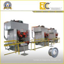 Tubeless Rim Pequeño rollo que forma la línea de producción Máquina hidráulica