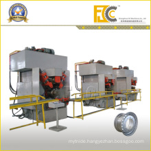 Tubeless Rim Small Roll Forming Production Line Hydraulic Machine