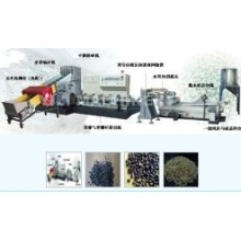 Afval van Plastic folie Recycling Machines