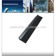 Эскалаторная щетка, Элементы безопасности для лифтов