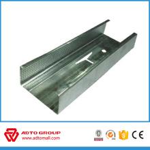 estructura de quilla de acero galvanizado / de ángulo de pared / de metal