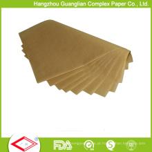 Unbleached 460X710cm padaria papel vegetal pergaminho folhas