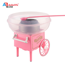 Anbo new style and easy to operate lovely cotton candy machine makes fresh candy floss candy maker  machine
