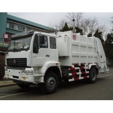 12m3 HOWO Sinotruk Rear-Loading Compressed Garbage Truck (QDZ5163ZYSZH)
