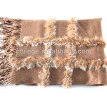 кашемир мех декоративные пашмины обертывания
