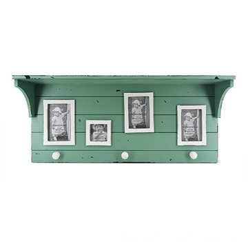 Cadre de collage en bois pour mur