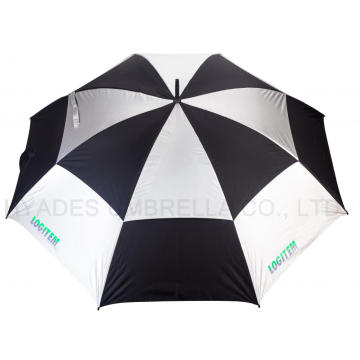 "Double Layer 30 ""Windproof Golf Umbrella"