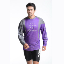 100% Polyester Man′s Long Sleeve T-Shirt