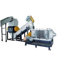Pppe Film Recycling Machinery and Plastic Waste Recycling