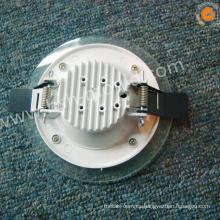 AlSi12 carcasa de downlight de aluminio de alta calidad led