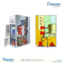 China Projeto Sf6 Rum Hxgt Series Interior 12kv Indoor Gas Isolação Metal-Clad Switchgear