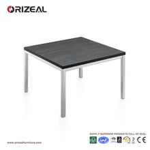 Orizeal Contemporary Coffee Table,Yellow Side Table,Wood Top Coffee Table (OZ-OTB013)