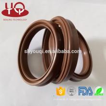 Joints pneumatiques de garniture de joint pneumatique de série de l'UE Parker FKM / Viton / PU pour la tige de cylindre d'air pour MSC