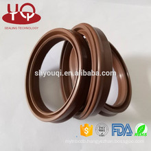Parker Series EU Rubber Pneumatic seal Wiper seals FKM/Viton/PU for air cylinder rod For MSC